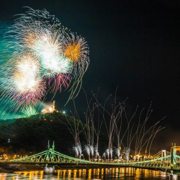 20th of August - Fireworks Cruise & Dinner on Danube