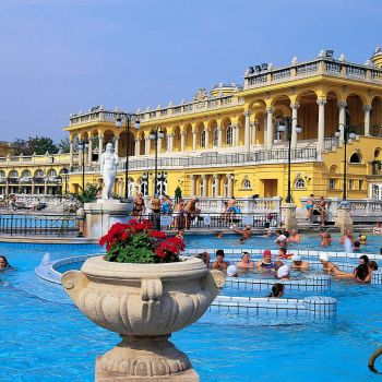 Széchenyi Spa Skip The Line Ticket with Cabin